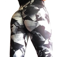 Lucid Prism Scrunch Back Push Up Leggings