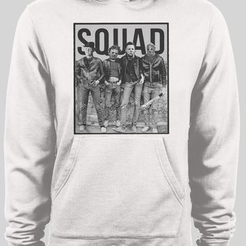 HORROR MOVIE KILLER SQUAD WINTER PULL OVER HOODIE