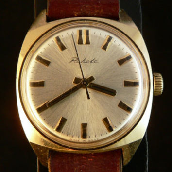 Russian gold filled Raketa mens watch
