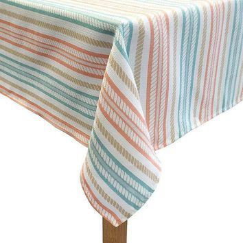 CREY7GX Colordrift The Ropes Tablecloth (Orange)