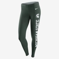 The Nike College Tailgate Leg-A-See (Michigan State) Women's Tights.