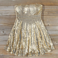 Ice Storm Party Dress