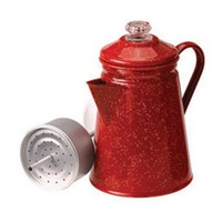 GSI Outdoors Enamelware 8 - Cup Percolator - 158277, RV Kitchen at Sportsman's Guide