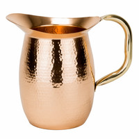Copper & Brass 2-Quart Pitcher by Old Dutch