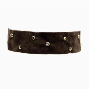 Soft Stud Choker in Black