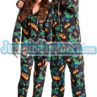 Hulk - Marvel Comics - Pajamas Footie PJs Onesuit One Piece Adult Pajamas