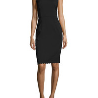 Tie Neck Sheath Dress by Ava & Aiden at Gilt