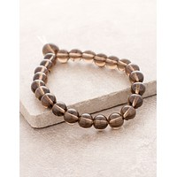 High-Energy Smoky Quartz Wrist Mala