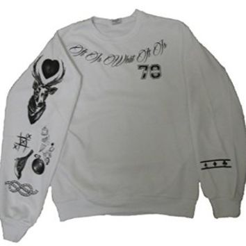Allntrends One Direction Sweatshirt Louis Tomlinson Newest Tattoo