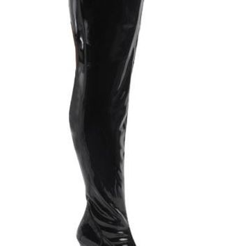 Pleaser Female Wide Width Thigh Boot, 3 3/4 Inch LUST3000X