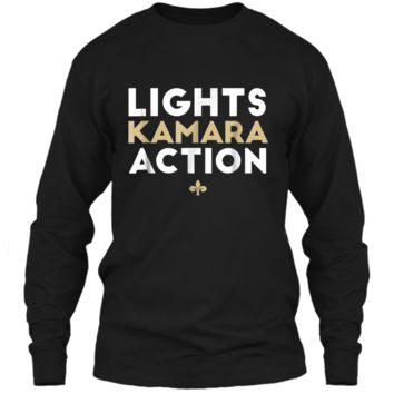 Lights Kamara Action Funny Football  New Orleans LS Ultra Cotton Tshirt