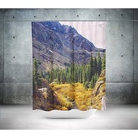Colorado Autumn Nature Shower Curtain