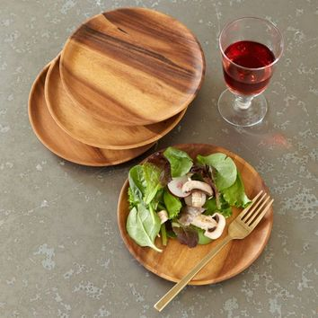 Wooden Accent Plates