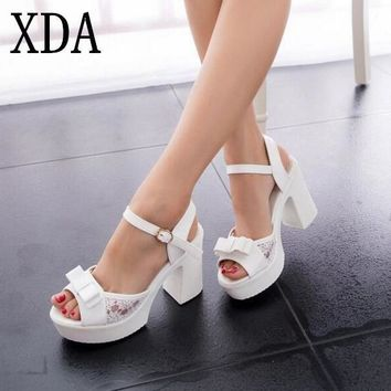 XDA Hot Sandals Women Fashion Women Sandals New Summer Shoes woman Open Toe Sandals Th
