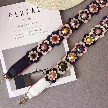 Handbag strap Strapper you rivet handbags belts women bags strap women bag accessory bags parts Cow leather icon bag belts