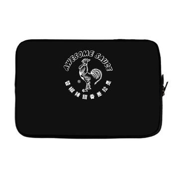awesome sauce asian humor rooster funny cool Laptop sleeve