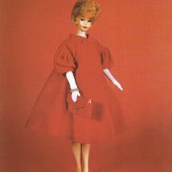 bubble cut barbie print ken doll skipper doll balenciaga inspired girls wall decor bar