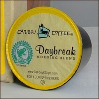 Caribou Coffee DAYBREAK MORNING BLEND 96 K-Cups for Keurig Brewers