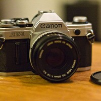 Vintage Canon AE1 35mm film Camera by callrw on Etsy