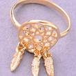 Dream Catcher Ring - Gold or Silver