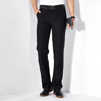 Summer Men Trousers Slim Pants Korean Blazer [6541361347]