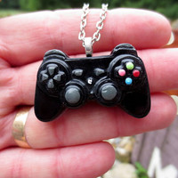 Mini PlayStation Controller Necklace