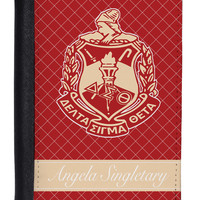 Personalized Passport Cover - Delta Sigma Theta Sorority