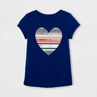 Toddler Girls' Graphic T-Shirt - Cat & Jack™ Blue