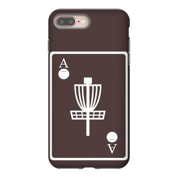 disc golf ace card target chains frisbee basket iPhone 8 Plus