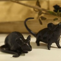 Sculptural Mice Object | Pottery Barn