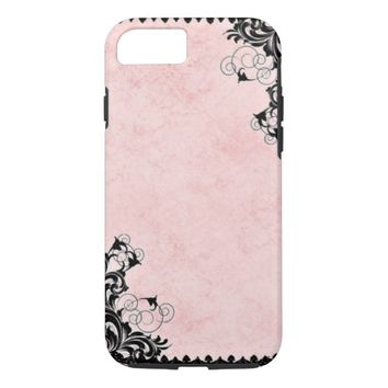 Vintage Pink iPhone 7 Case