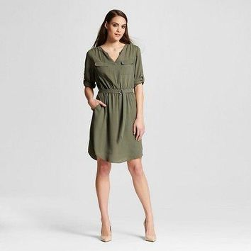 Mossimo Women's Convertible Sleeve Dress