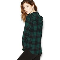 The Hoodie Flannel Shirt