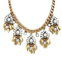 Weekend Blooms Statement Necklace