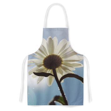 "Angie Turner ""Daisy Bottom"" Sky Flower Artistic Apron"