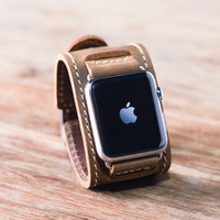 Apple Watch Leather with Cuff, iwatch,iwatch band,apple watch band,apple watch band 42mm,apple watch,apple watch leather band,Listing #042