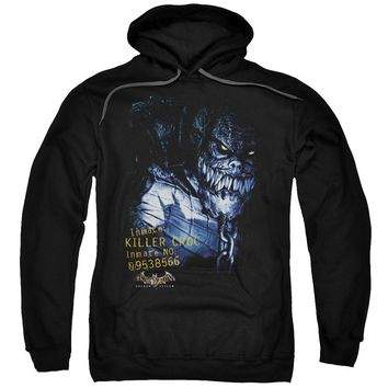 Batman Aa - Arkham Killer Croc Adult Pull Over Hoodie