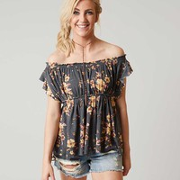 FREE PEOPLE SAM OFF THE SHOULDER TOP