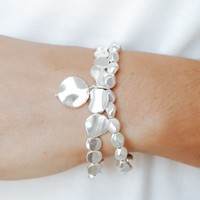 Remain in Love Bracelet - Silver