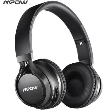 Mpow bluetooth headphone headset wired & wireless stereo headset Foldable  Handfree Calling 3.5mm jack MIC headphone