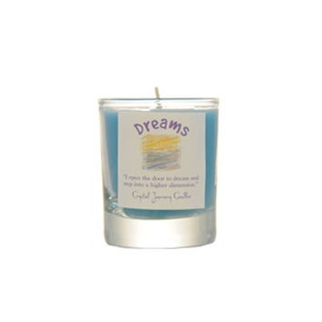 Dreams Soy Glass Votive Candle