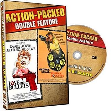 Charles Bronson & George Segal & n/a Love & Bullets / Russian Roulette Double Feature