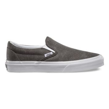 Vans Washed Slip-On (pewter)