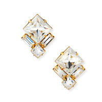 Ava Crystal Stud Earrings - Auden