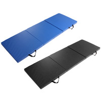 180*60*5cm Thick Non-slip Folding Panel Gymnastics PU Elastic Yoga Mats Pad Fitness Lose Weight Exercise mats for indoor outdoor