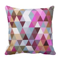 Triangle Mix #3 - Pillow