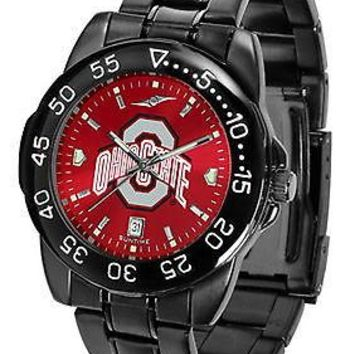 Ohio State Buckeyes Mens Fantom Watch Gunmetal Anochrome