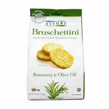 Asturi Bruschettini Rosemary and Olive Oil 4.2 oz