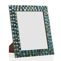 Stepped Bone Frame, 8x10, Green, Frames