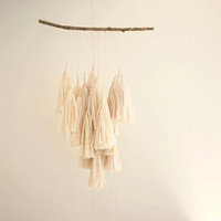 Peach Branch Tassels by FleurLux on Etsy
